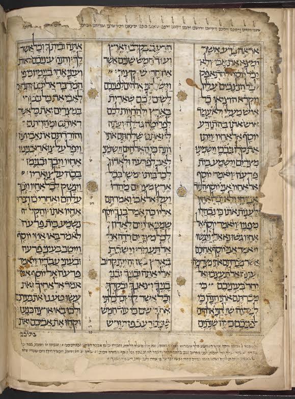 פיסת היסטוריה. כתבי יד עתיקים|צילום: באדיבות הספריה הלאומית