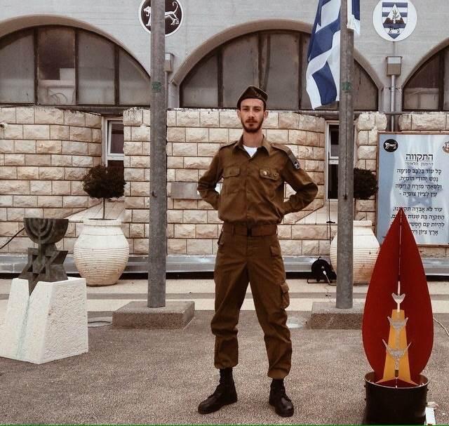 חייל, אבל לא בודד. יונתן פוליאק|צילום: פרטי