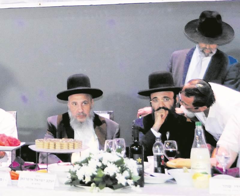 אחדות. הרבנים עמרם ויעקב איפרגן|צילום: י.ביטון