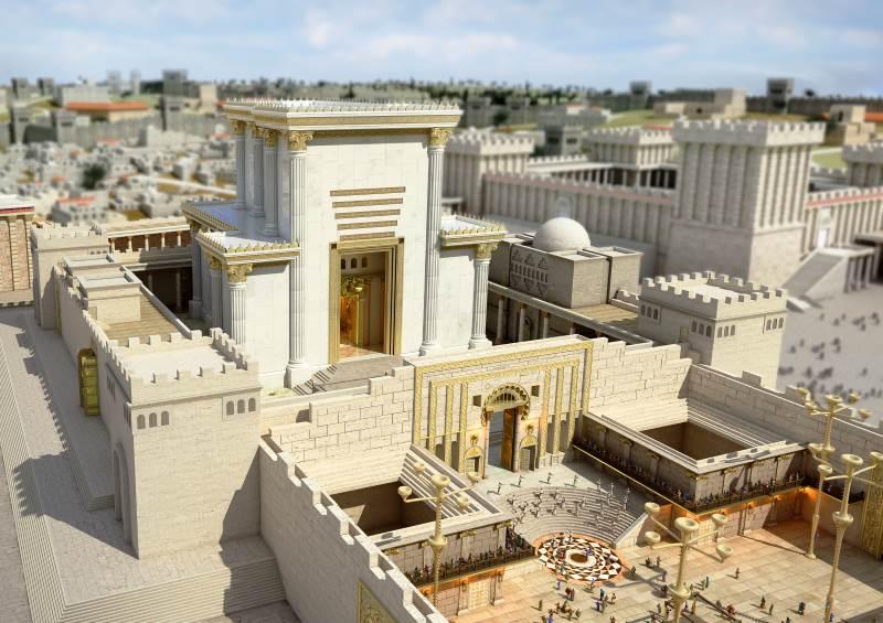 בחזרה לעבר. בית המקדש|צילום: הקרן למורשת הכותל המערבי