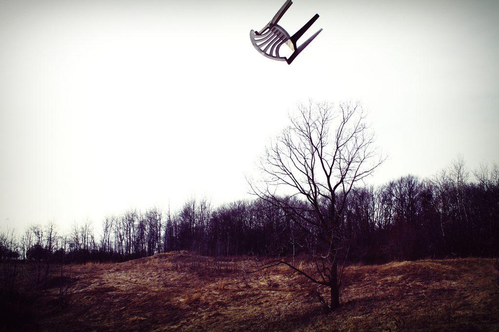 כיסא בשמיים | צילום מתוך אתר פליקר